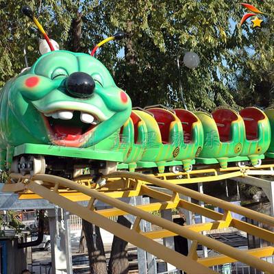 公园户外游乐设施青虫滑车 儿童游乐设备推荐