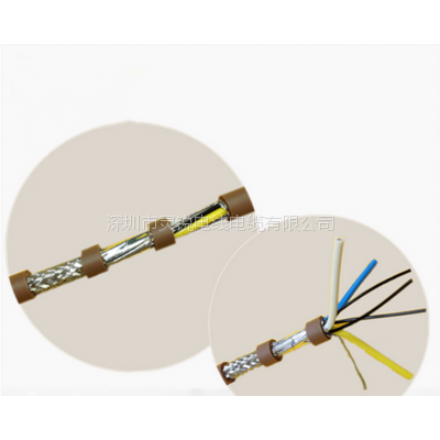 cc-link三菱電纜3*0.5mm2 ccnc-sb110sf-5 三菱可動部用電纜