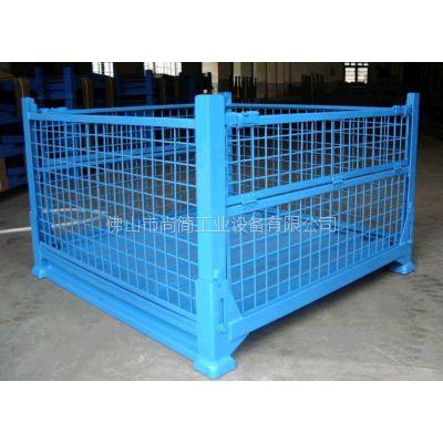 承载力强、对产品保护好、安全作业周转的flzzx折叠式周转箱供应