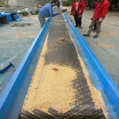 800寬升降式皮帶運輸機 黃沙石渣移動升降皮帶輸送機圖片