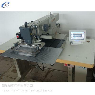廣東花樣機廠家星馳牌xc-x2010r三菱彩屏花樣機 全新單針雙線縫紉機