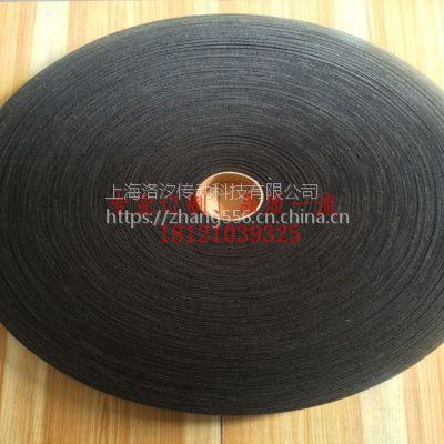 上海洛汐長期經編機|印染機|起毛機用黑絨布