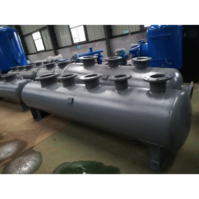 天津碳鋼分集水器、分水器、集水器廠家定做befj