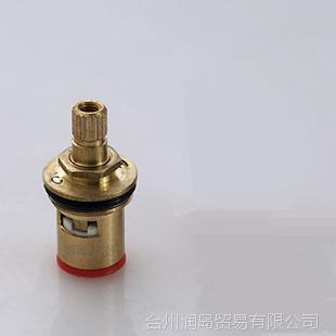 全銅閥芯三角閥陶瓷閥芯單水龍頭閥芯快開銅閥芯龍頭配件