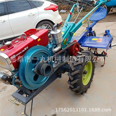 启动器柴油机 山地丘陵专用手扶拖拉机价格 农机配件 单缸柴油机