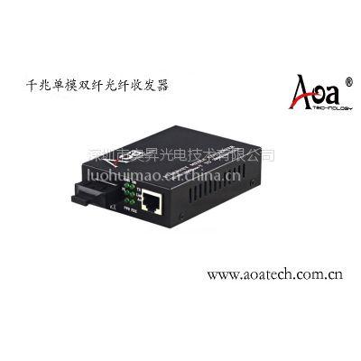 aoa品牌 千兆光纤收发器(aom-3100系列)