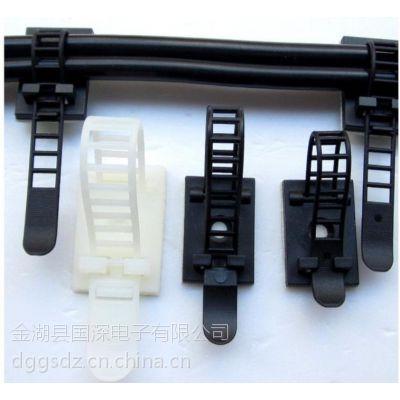 插销式线夹,布线固定片,线扣线卡,插销式电线固定座,来样定制