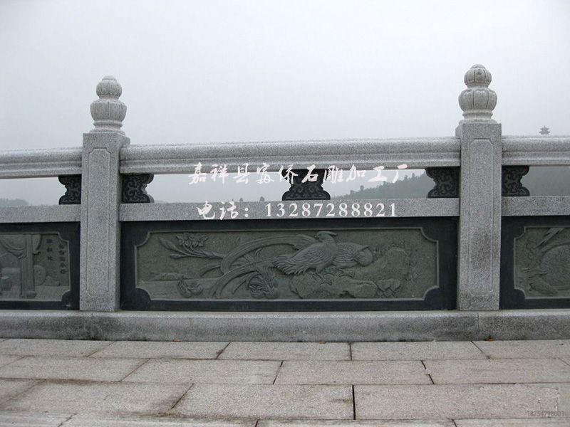 石栏杆石雕栏板板青石石栏美术v石雕图纸设计师(2d/3d)图片