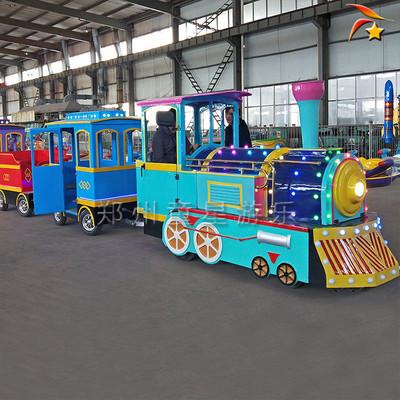 新型无轨小火车游乐设备 公园游乐场规划