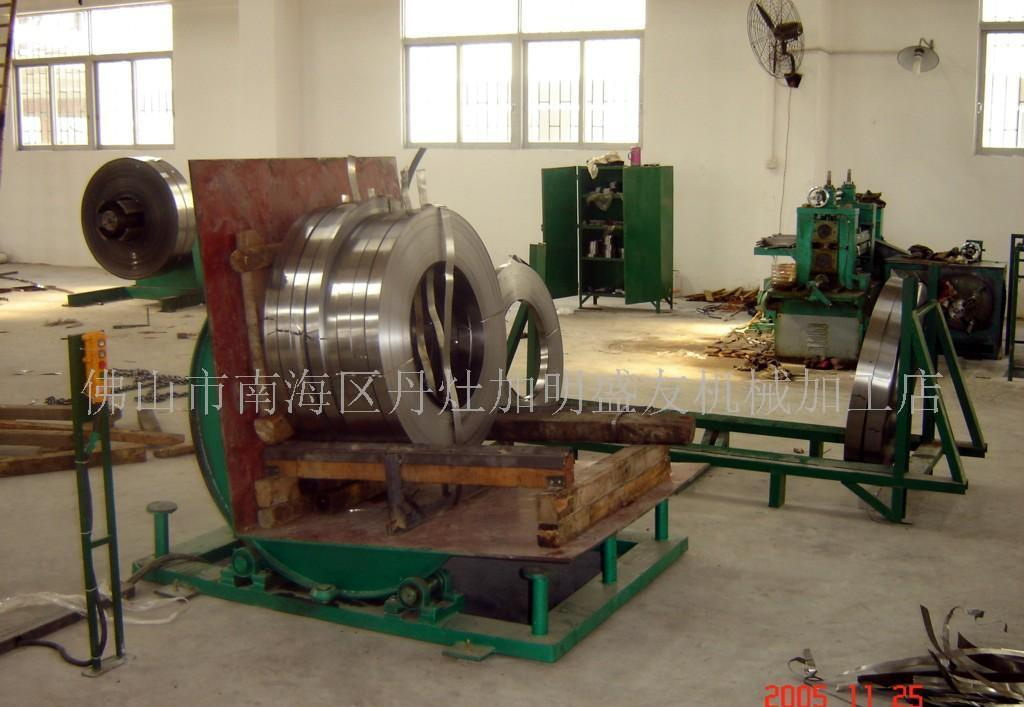 钢带卷翻卷机(电动和液压)