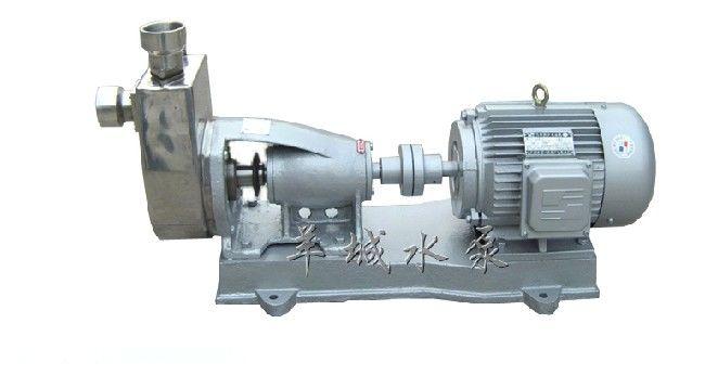 18米揚程每小時10噸流量的不銹鋼自吸泵