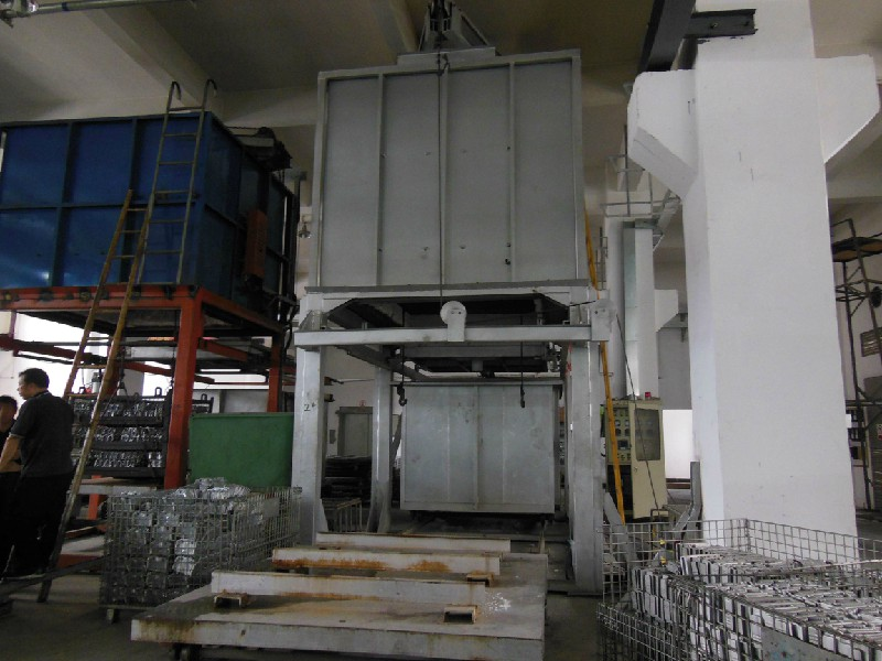 广东铝合金固溶处理炉、铝材时效处理设备