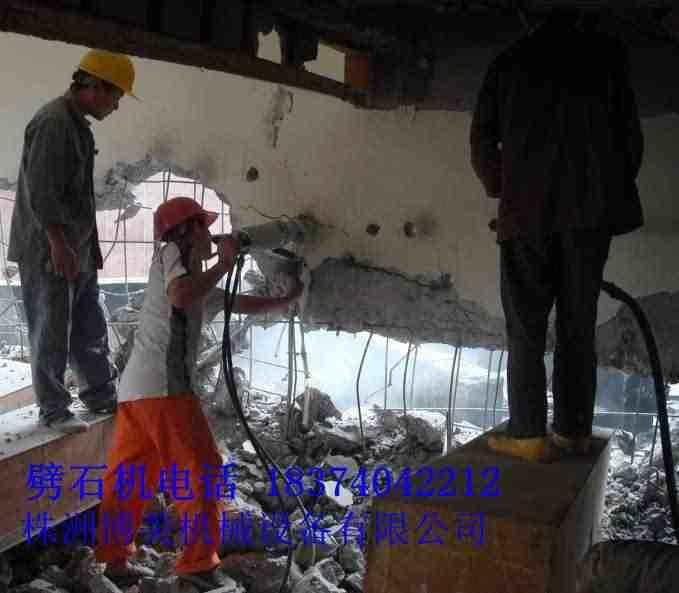 石嘴山房屋混凝土专业破拆机械,混凝土劈裂机