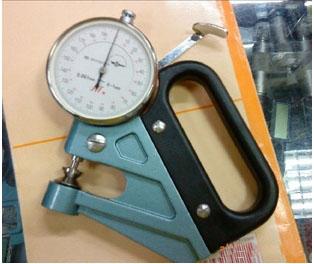 指针千分测厚规0-1mm,机械测厚仪,上海薄厚仪,手持式测厚仪