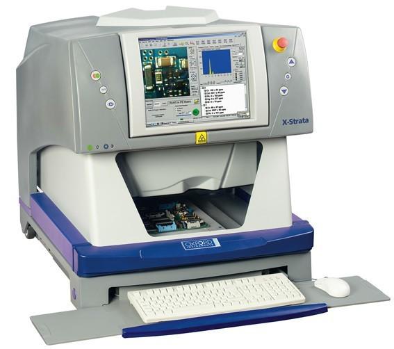 牛津儀器x-strata980xrf鍍層測厚及痕量元素分析