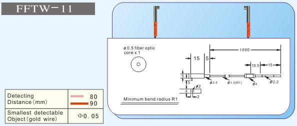 f&c嘉準fftw-11特殊光纖管