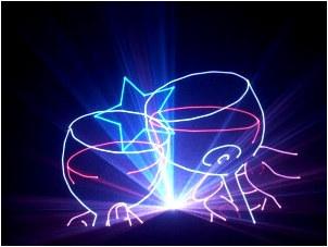 激光表演,舞台激光灯,logo投影灯,茂诚激光科技