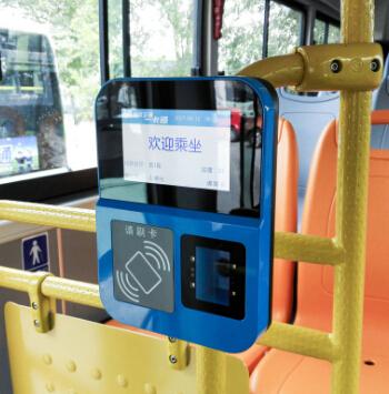 廠家直銷公交二維碼刷卡機一卡通系統開發多功能刷卡機wifi版