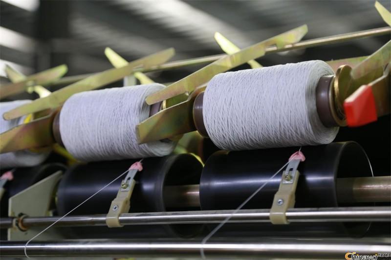 全电脑包根机高速橡筋线包覆纱机手套橡筋线机氨纶橡筋机