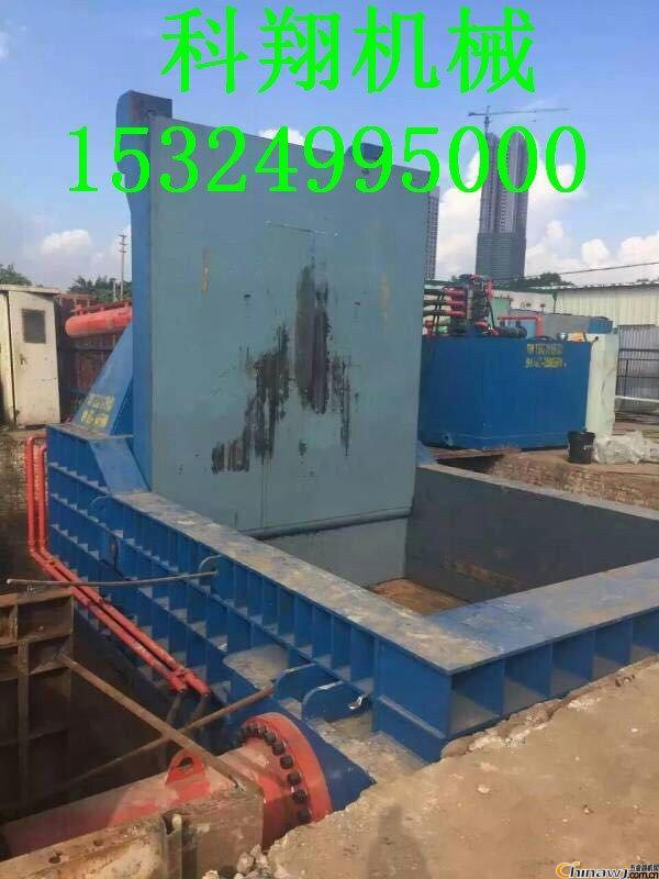 废金属屑压块机厂家直销-卧式金属压块机图片