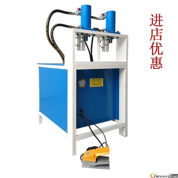 出售多功能方管45度切角機管材折角機方管沖孔機角鐵方管沖孔機