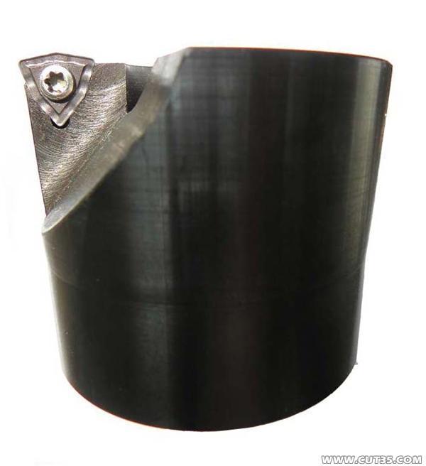 供應硬質合金機夾可轉位刀片空心鉆頭