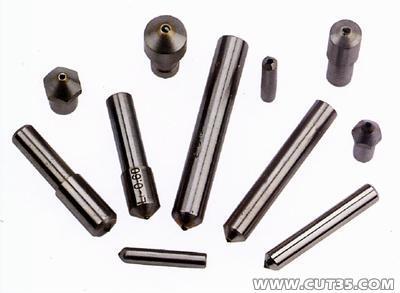 供应天然钻石修整笔,洗石笔 砂轮修整笔 普通钻石笔