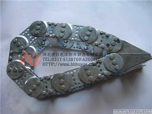 供应虎跃钢制拖链