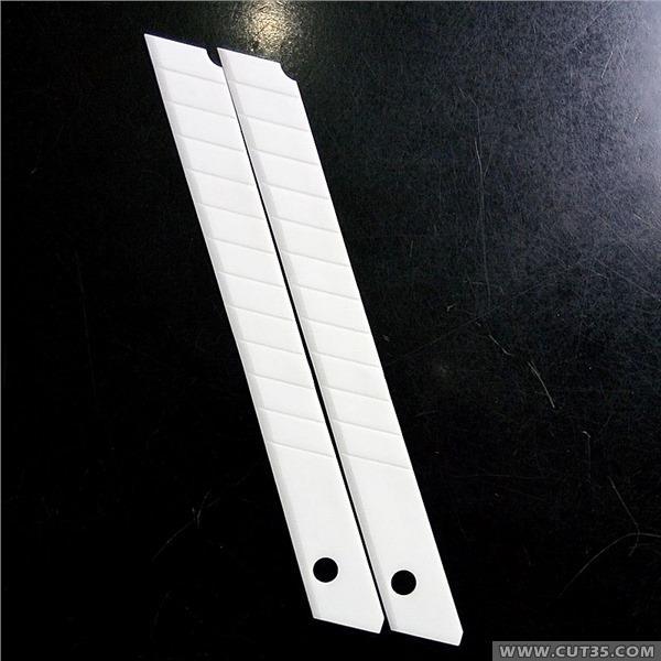 供应锋利耐磨绝缘9mm陶瓷小美工刀片