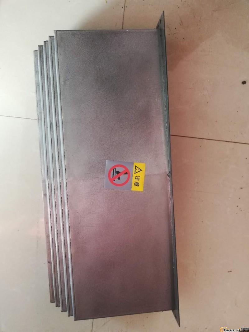 机床钢板防护罩不锈钢机床防护板价格