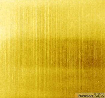 現貨供應鈦金不銹鋼拉絲板