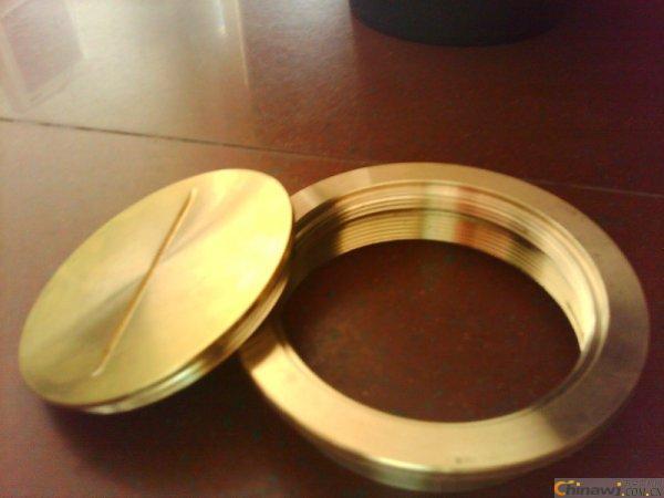 供应全铜清扫口 WJ型全铜螺纹连接清扫口