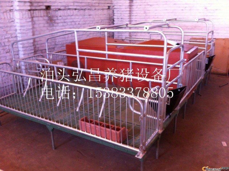 弘昌养猪设备厂供应复合母猪产床双体2.2*3.6米