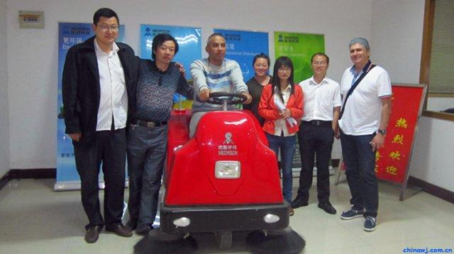 南通铭德环保设备扫地机MD-1260A-DB智能型