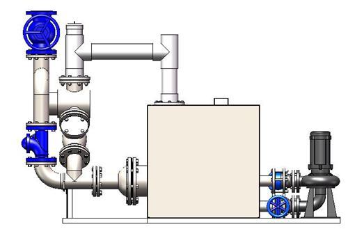科瑞兴全自动污水提升设备/一体化排污设备