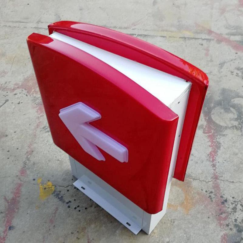 供應石家莊中石化加油站出入口油品指示燈箱
