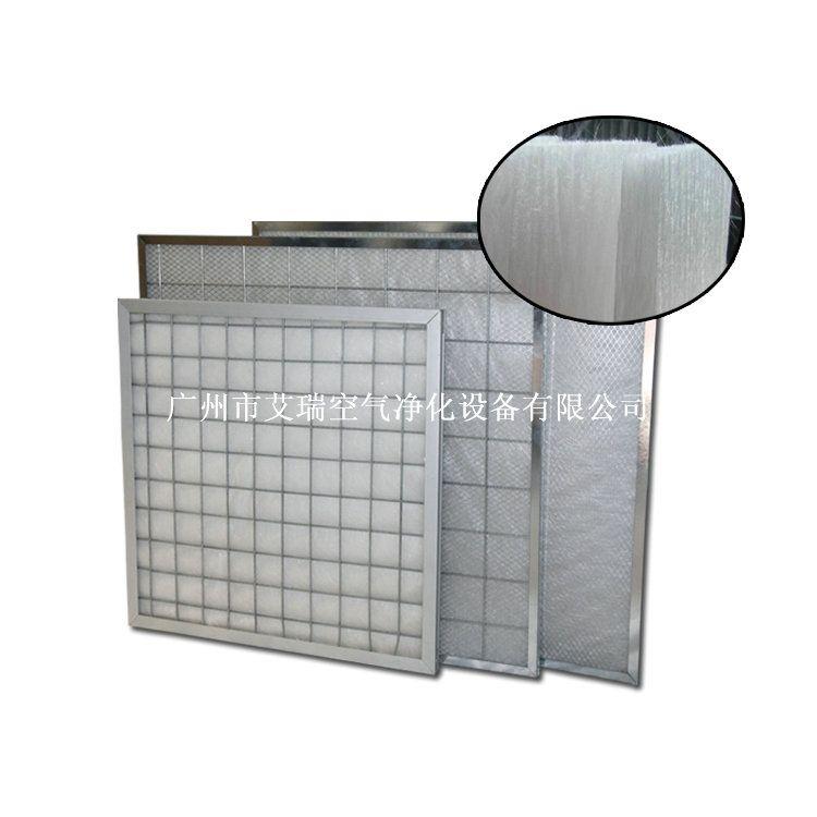 铝合金外框板式初效过滤器,空气初效过滤器