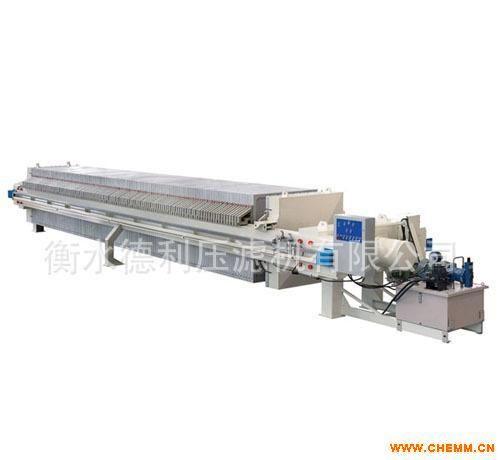 精細化工廢水濾液 設備  壓濾機實力廠家河北衡水德利壓濾機廠家直銷