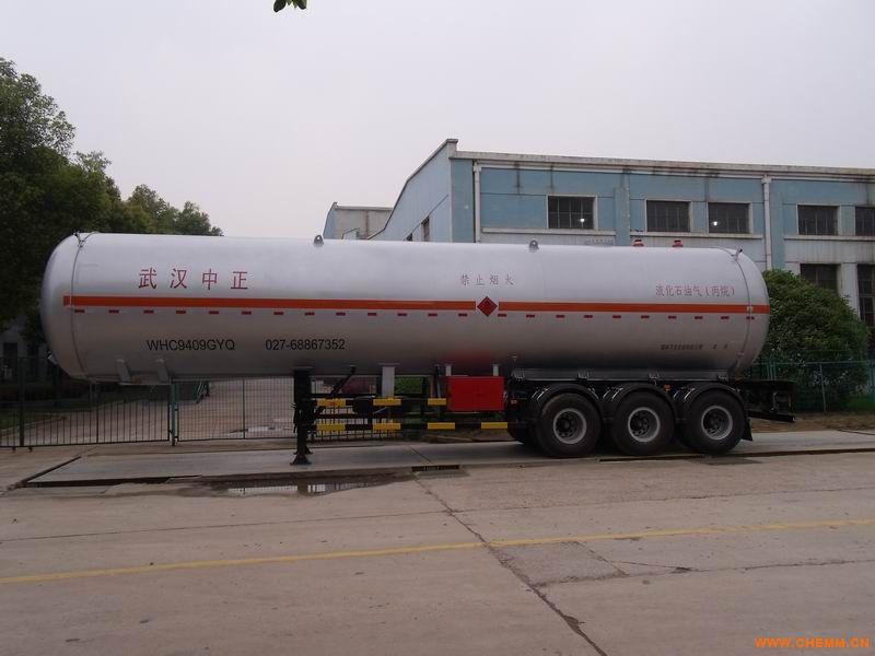 液化氣體運輸半掛車