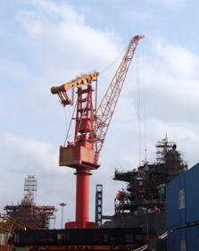 港口碼頭礦業用門座式起重機