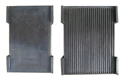 軌道夾板壓板軌道橡膠墊板