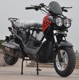 祖瑪電動車加長電動祖瑪72V800w電摩踏板車新款電動車電瓶