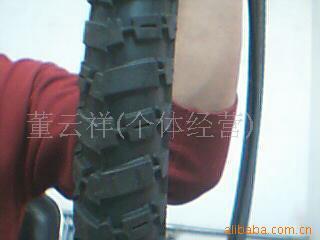 库存自行车轮胎