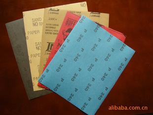 氧化铝水砂纸、碳化硅水砂纸、干磨砂纸