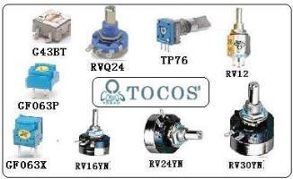 TOCOS 電位器 GF063,GF063P