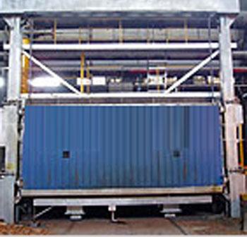 全纖維燃氣臺車爐-燃氣爐-箱式爐-各式工業電爐價格-江蘇邦泰電爐