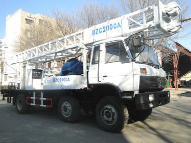 濱州鉆機BZC200CA車載式水井鉆機