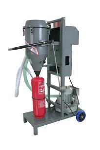 供应豪日牌GFM16-1A灭火器干粉灌装机