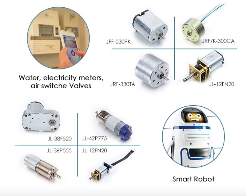 32mm 6V 6000rpm Metal Brush DC Micro Electric Motor for Soap Dispenser and Smart Trash Can