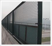 橋梁護欄網、橋梁框架式防護網-低碳鋼絲護欄網-美化基地護欄網